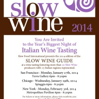 A Taste of Italy: Slow Wine 2014 US Tour
